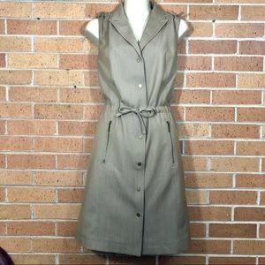 Calvin Klein Dress size 6 Safari Khaki